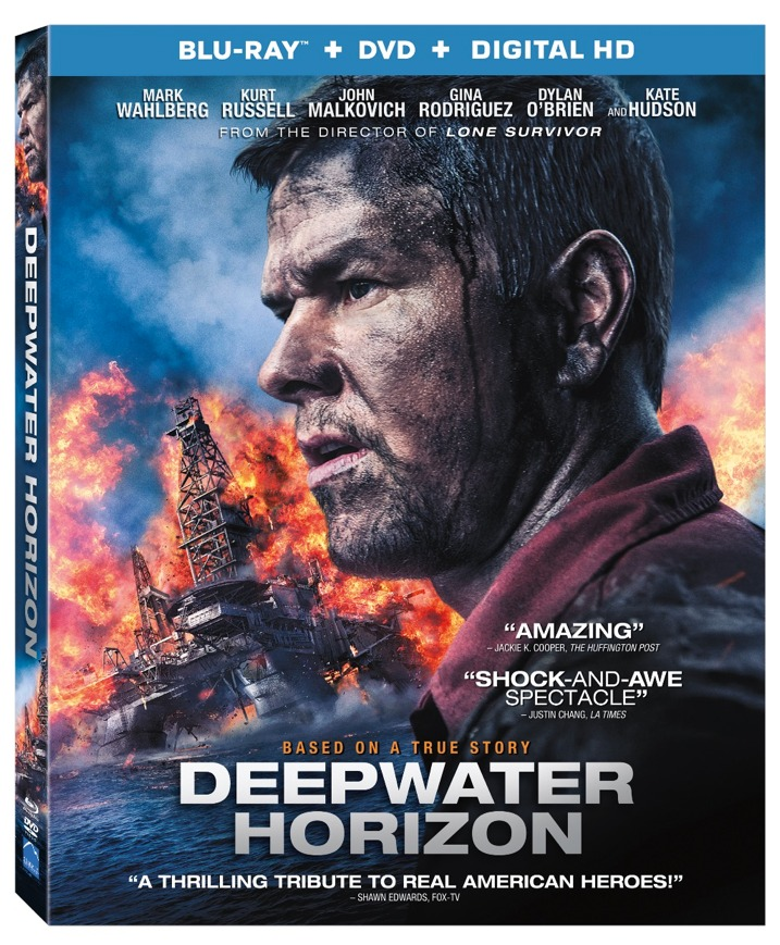 Deep Water Horizon Blu-ray Cover Art
