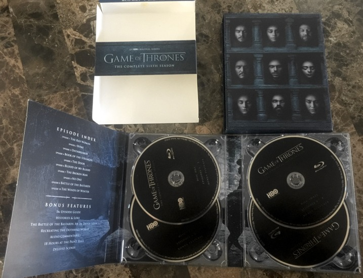 Game of Thrones Season 6 Product 1