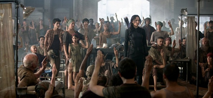 Hunger Games Mockingjay Part I d
