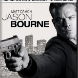 Jason Bourne 4K Blu-ray Case - Front