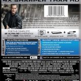Jason Bourne 4K Case - Rear