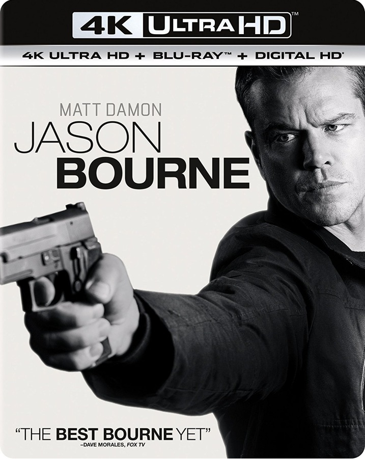 Jason Bourne 4K Cover
