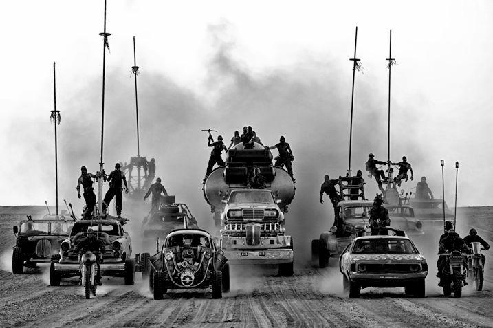 Mad Max Fury Road Black & Chrome 1