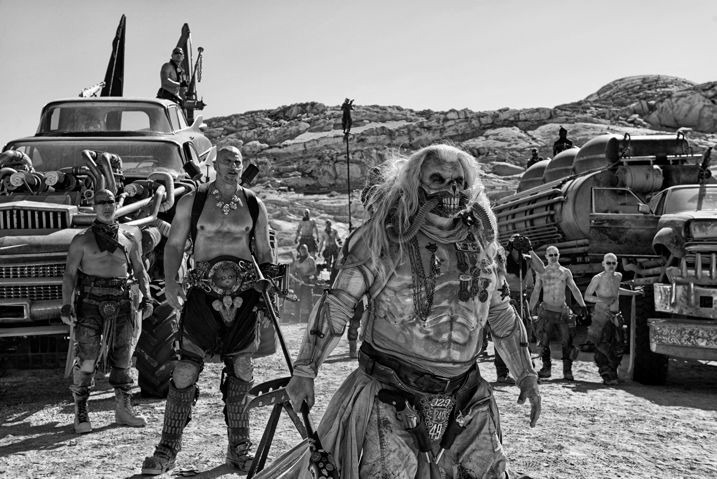 Mad Max Fury Road Black & Chrome 2