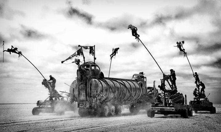 Mad Max Fury Road Black & Chrome 6