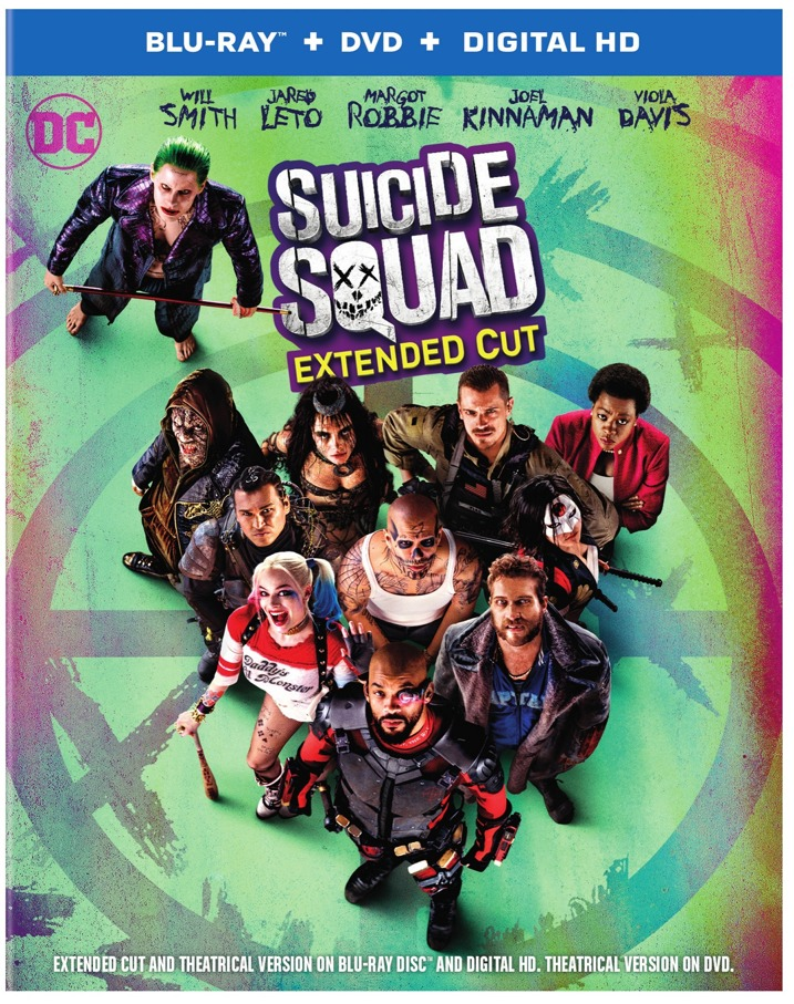 Suicide Squad Blu-ray Cover Art