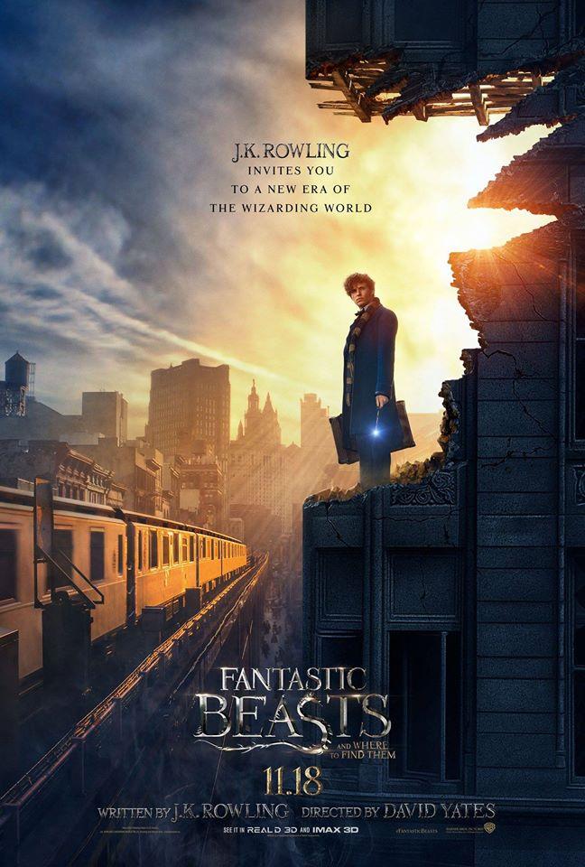 fantastic beasts poster 2