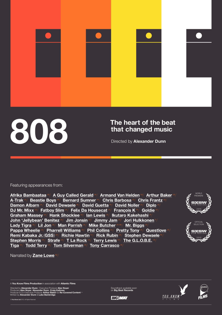 808 poster