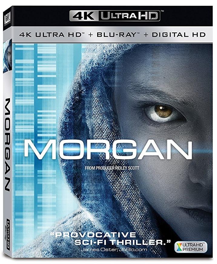 Morgan 4K UHD Blu-ray Cover Art