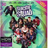 Suicide Squad 4K Blu-ray Slipcase Cover