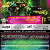 Suicide Squad 4K Rear Slipcase Cover