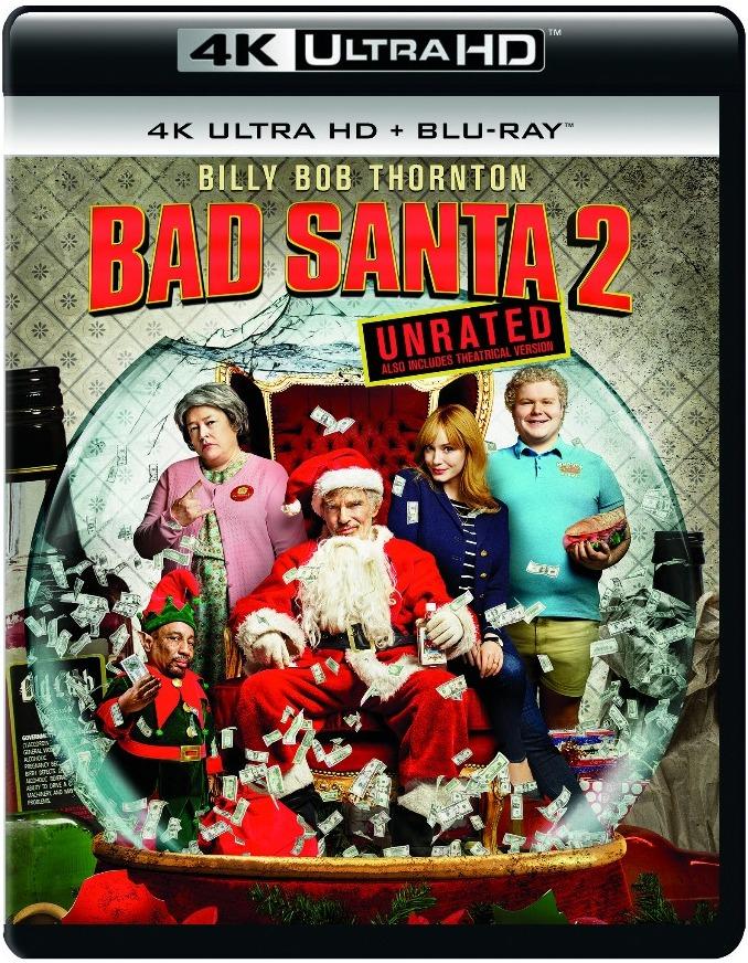Bad Santa 2 Unrated 4K UHD Cover