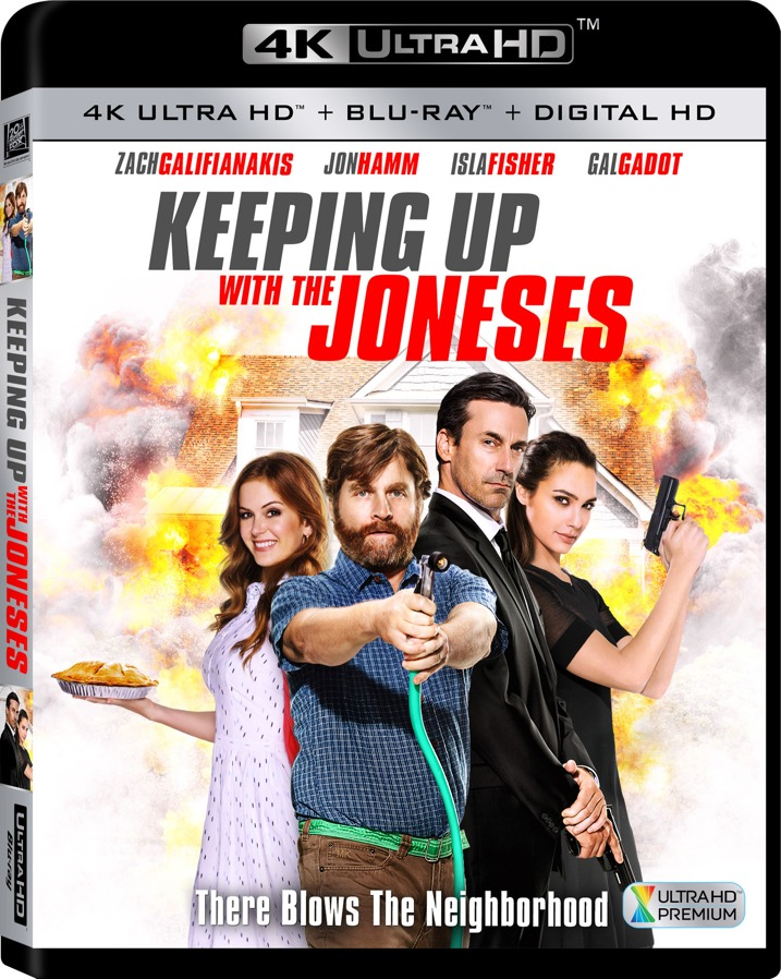 Keeping Up With The Jonses 4K UHD Blu-ray Cover