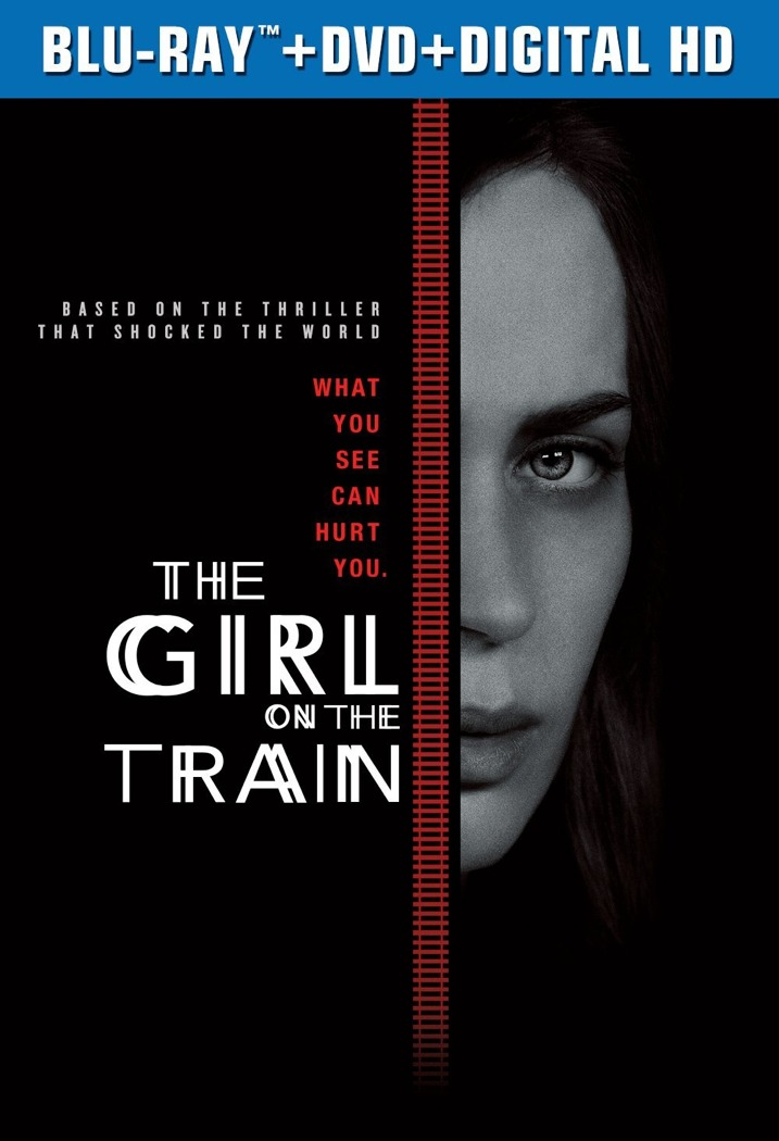 The Girl on the Train Blu-ray Cover Art