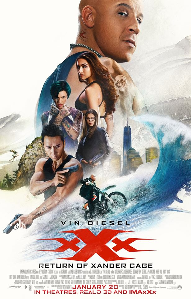 xxx Return of Xander Cage poster 1