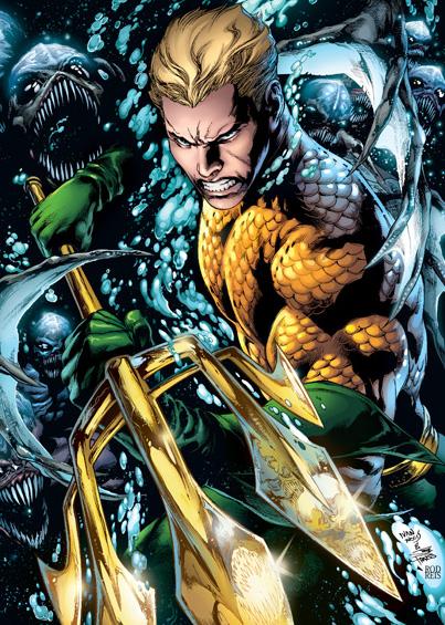 Aquaman Trench