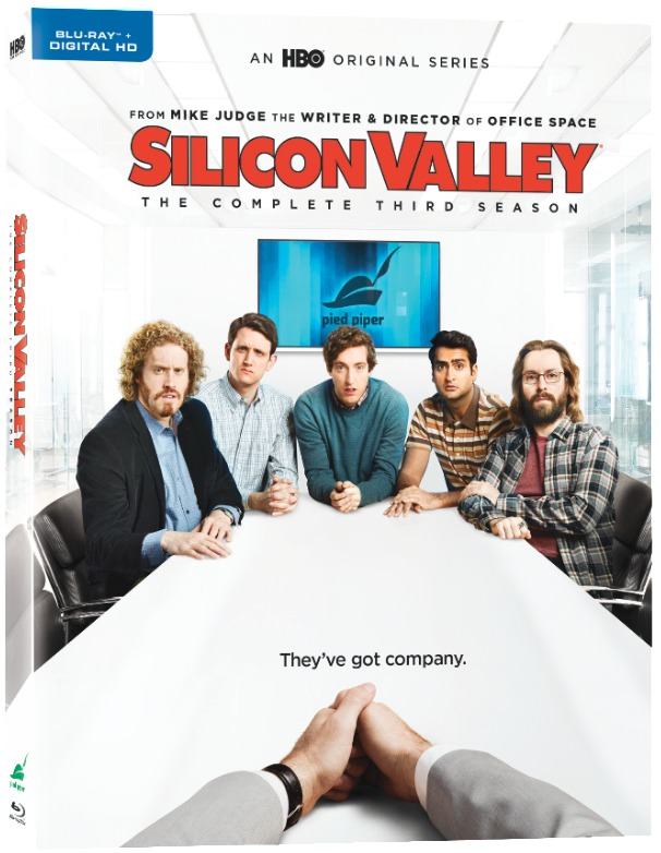 Silicon Valley Complete Third Season Blu-ray Cover