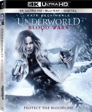 Underworld Blood Wars 4K Cover