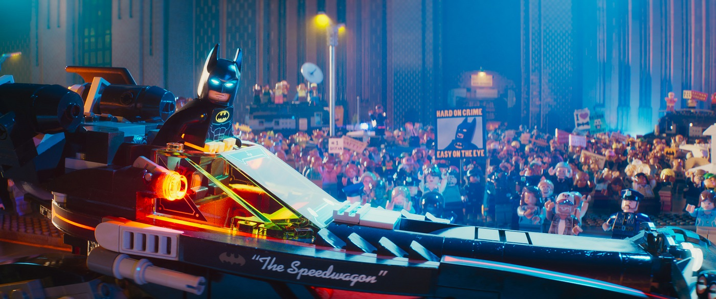 The Lego Batman Movie Features The Miniature Hero We Deserve Movie Review At Why So Blu