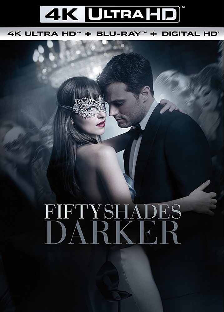 Fifty Shades Darker 4K Cover