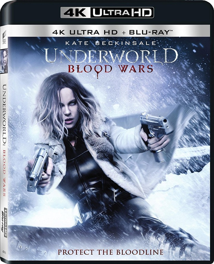 Underworld Blood Wars 4K Cover