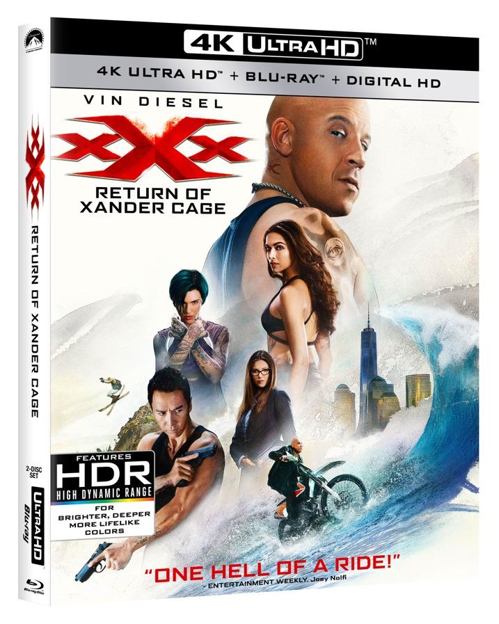 xXx Return of Xander Cage 4K Ultra HD