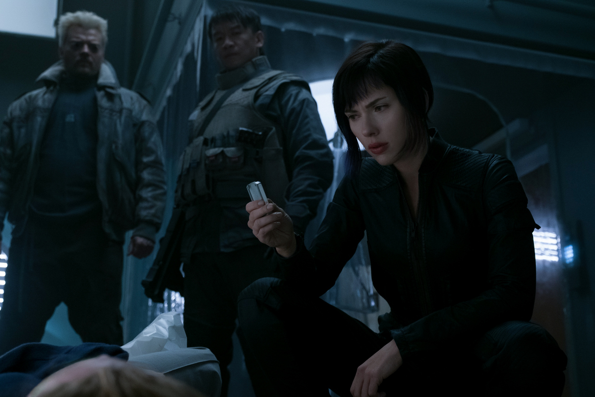 The Visually Stunning Ghost In The Shell Has A Major Problem Movie Review At Why So Blu