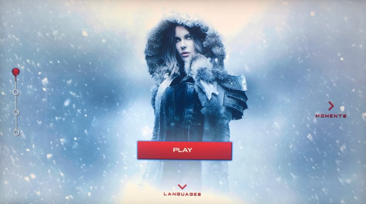 Underworld Blood Wars 4K Menu