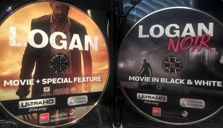 Logan 4K discs