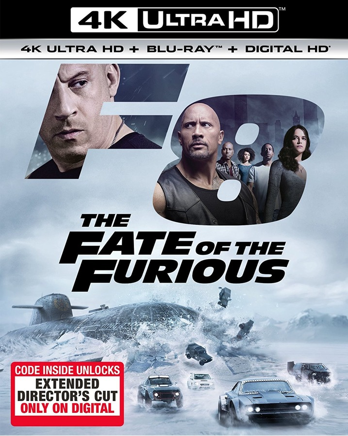 The Fate of the Furious 4K
