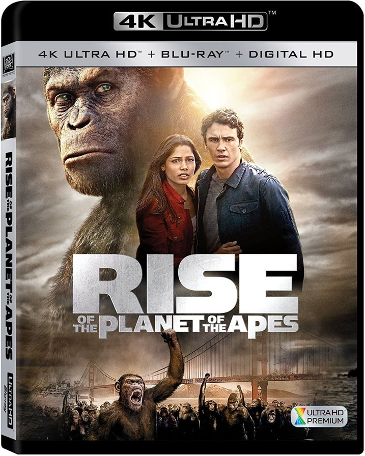 Rise of the Planet of the Apes 4K Ultra HD Blu-ray