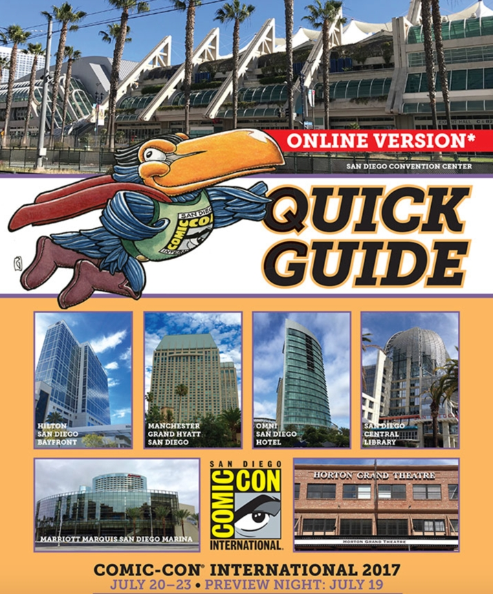 Comic-Con 2017 Quick Guide