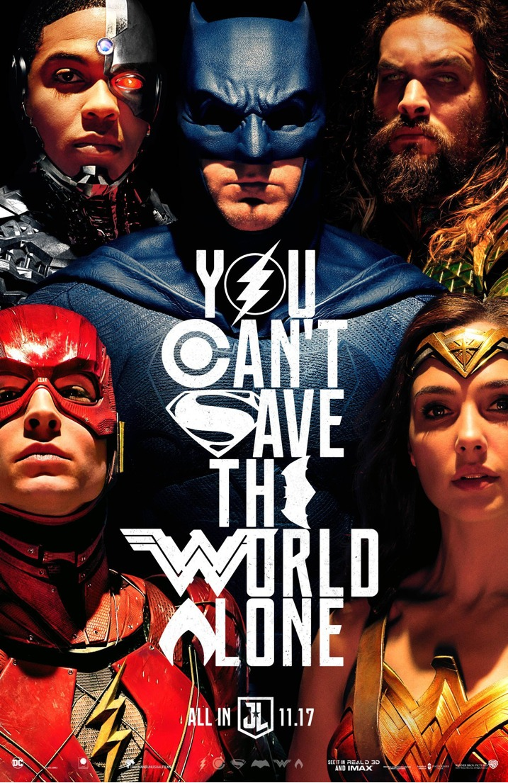 Justice League New Movie Poster