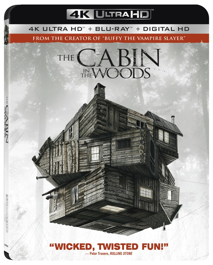 Cabin in the Woods 4K Cover