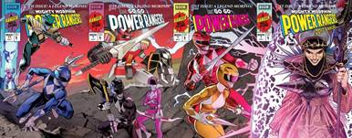 Power Ranger Comics