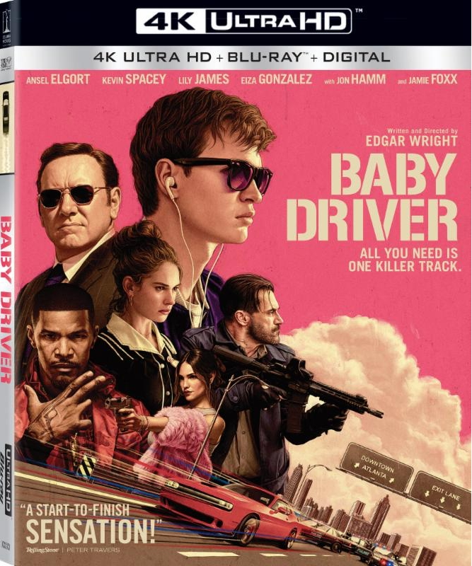 Baby Driver 4K Cover