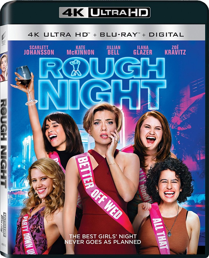 Rough Night 4K Ultra HD Blu-ray