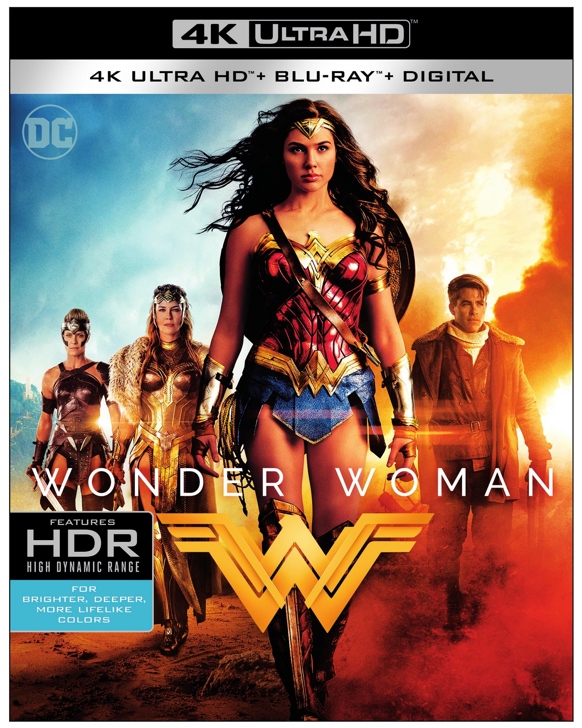 Wonder Woman 4k Uhd Blu Ray Review At Why So Blu