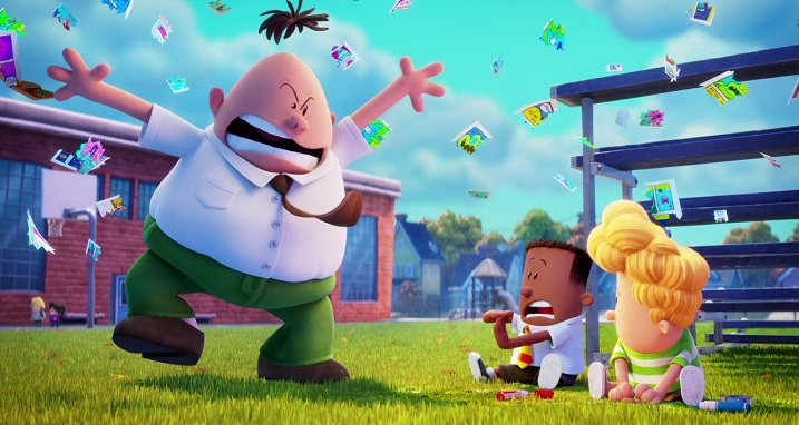 Captain Underpants The First Epic Movie 4k Uhd Blu Ray Review At Why So Blu