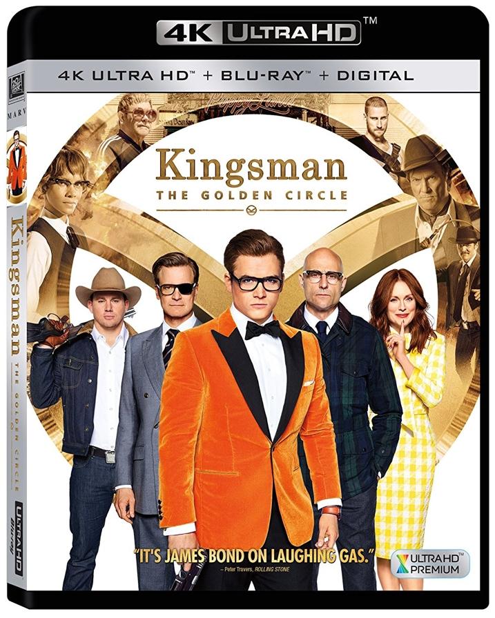 Kingsman 2 4K The Golden Circle Review
