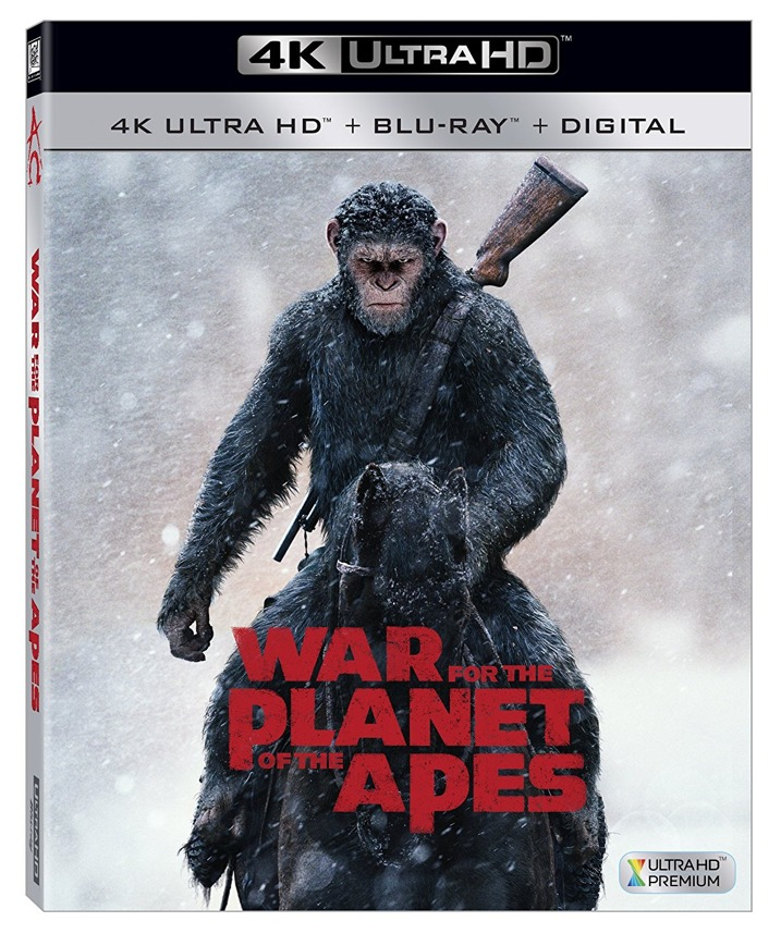 War For The Planet Of The Apes 4K Review