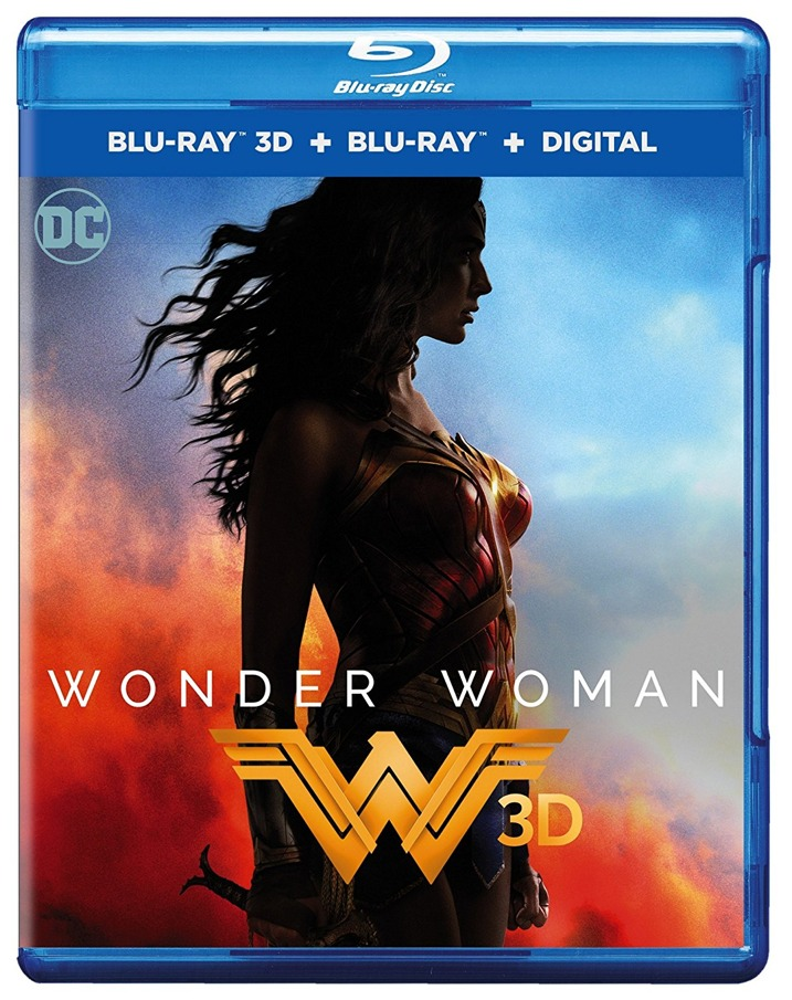 Wonder Woman 3D Blu-ray