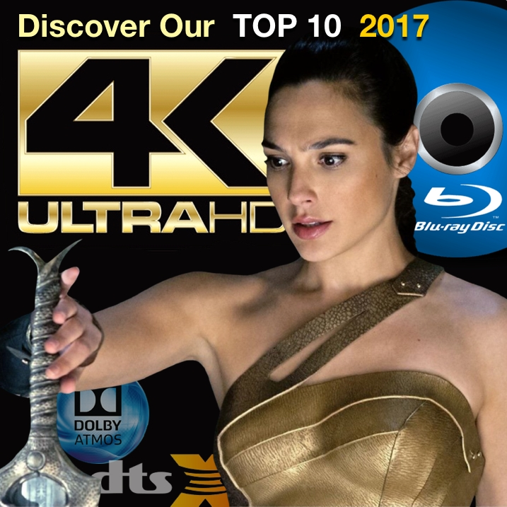 Brian Chooses His Top 10 4K Ultra HD Blu-ray Discs of 2017