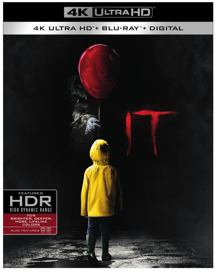 IT 4K Ultra-HD Blu-ray Cover