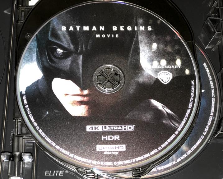 Christopher Nolan 4K Set - Batman Begins