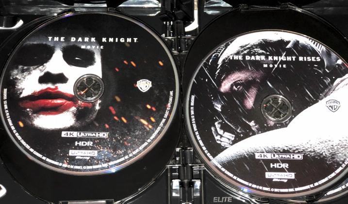 Christopher Nolan 4K Set - Dark Knight & Rises