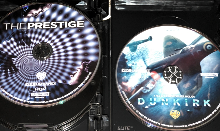 Christopher Nolan 4K Set - Prestige & Dunkirk