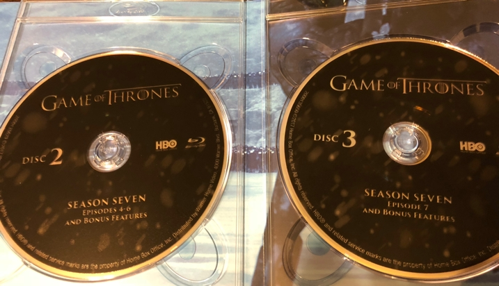 Game of Thrones Season 7 Unboxing