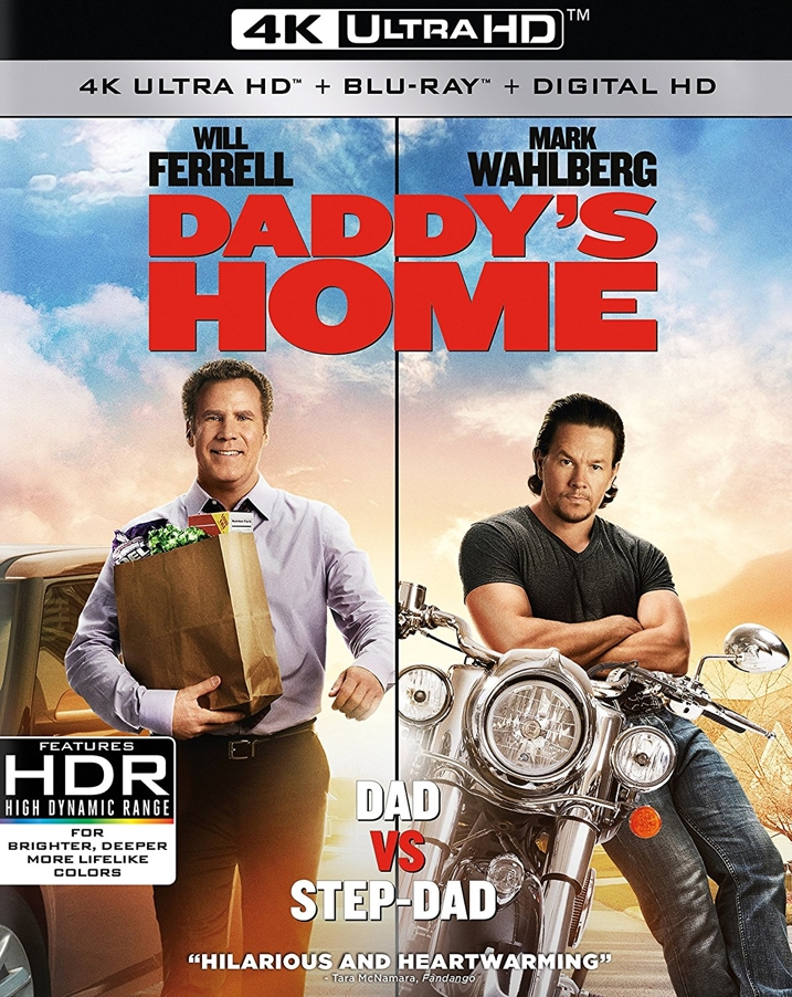 Daddy's Home 4K Cover
