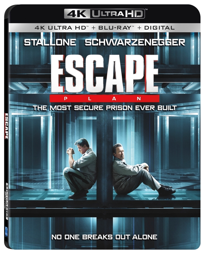 Escape Plan 4K Cover